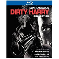 Dirty Harry Collection (Dirty Harry / Magnum Force / The Enforcer / Sudden Impact / The Dead Pool) [Blu-ray]
