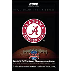 2010 Citi BCS National Championship-Texas versus Alabama