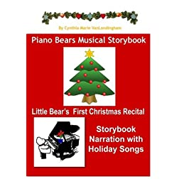 Piano Bears Musical Storybook - Little Bear's First Christmas Recital DVD