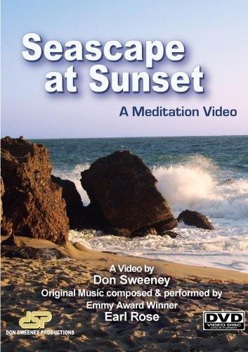 Seascape at Sunset, A Meditation DVD