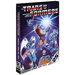 Transformers: Seasons Three & Four [25th Anniversary Edition]