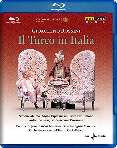 Rossini: Il Turco in Italia [Blu-ray]