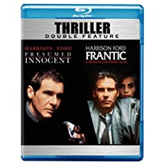 Presumed Innocent / Frantic (Thriller Double Feature) [Blu-ray]