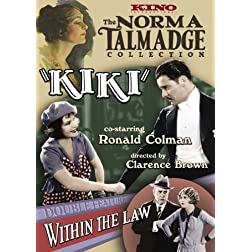 The Norma Talmadge Double Feature: Kiki (1926) / Within the Law (1923)