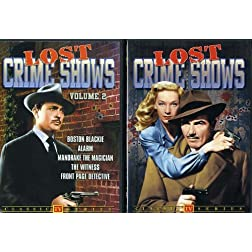 Lost Crime Shows, Volumes 1 & 2 (2-DVD)