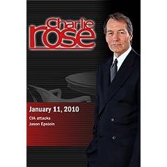 Charlie Rose - CIA attacks / Jason Epstein (January 11, 2010)
