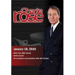 Charlie Rose - Matt Frei / Katie Couric  / Jeff Zucker (January 18, 2010)