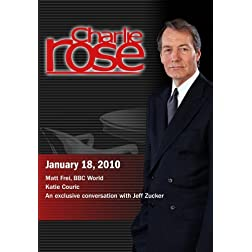 Charlie Rose - Matt Frei / Katie Couric  / Jeff Zucker (January 18, 2010)