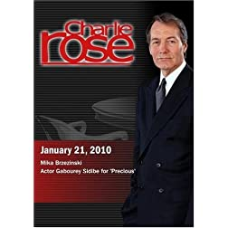 Charlie Rose - Mika Brzezinski /Gabourey Sidibe (January 21, 2010)