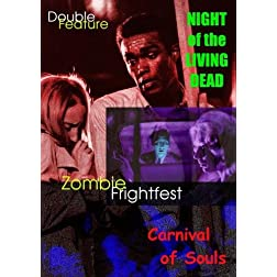 Zombie Frightfest: Night of the Living Dead & Carnival of Souls [Double Feature]