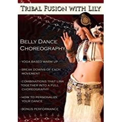 """Tribal Fusion Choreography to """"Heretic"""" with Lily"""