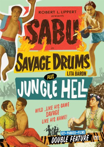 Sabu Double Feature: Savage Drums & Jungle Hell