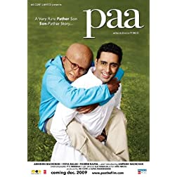 Paa (New Amitabh Hindi Movie / Bollywood Film / Indian Cinema / DVD)