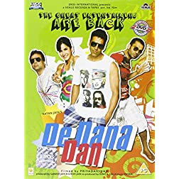 De Dana Dan (New Comedy Hindi Movie / Bollywood Film DVD)