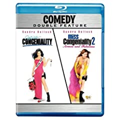 Miss Congeniality/Miss Congeniality 2: Armed and Fabulous (Comedy Double Feature) [Blu-ray]