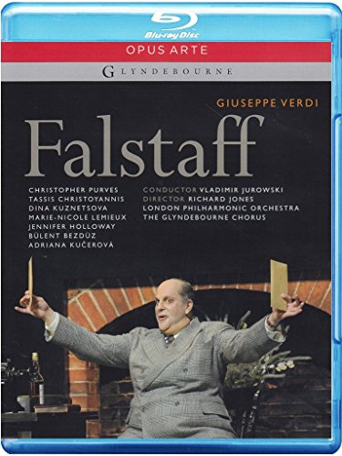Verdi: Falstaff - featuring the London Philharmonic Orchestra & Glyndebourne Chorus [Blu-ray]