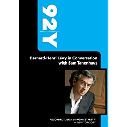 92Y- Bernard-Henri L�vy in Conversation with Sam Tanenhaus (September 18, 2008)
