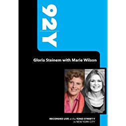 92Y- Gloria Steinem with Marie Wilson (September 10, 2008)