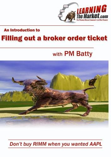 Introduction to Broker Order Forms