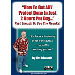 """""""How To Get ANY Project Done In Just 2 Hours Per Day... Fast Enough To See The Results!"""""""