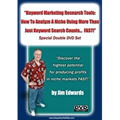 """""""Keyword Marketing Research Tools: How To Analyze A Niche Using  More Than Just Keyword Search  Counts... FAST!"""""""