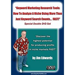 """Keyword Marketing Research Tools: How To Analyze A Niche Using  More Than Just Keyword Search  Counts... FAST!"""