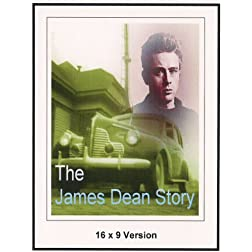The James Dean Story 16x9 Widescreen TV.
