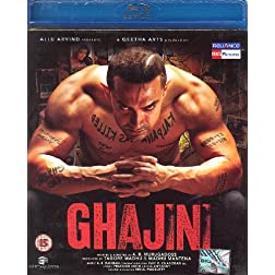 Ghajini [Blu-ray] (Bollywood Movie / Indian Cinema / Hindi Film)