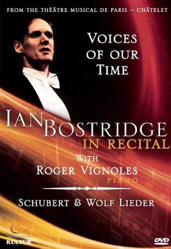 Bostridge in Recital - Voices of Our Time