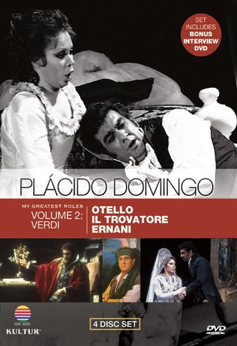 Placido Domingo: My Greatest Roles, Vol. 2 - Verdi (Otello / Il Trovatore / Ernani)