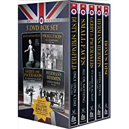 British Invasion: 5 DVD Box Set featuring Bonus Disc