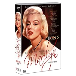 Marilyn Monroe 10 Disc Collection: Monkey Business, Don't Bother to Knock, Niagara, Gentlemen Prefer Blondes, How To Marry A Millionaire, There's No Business Like Show Business, River of No Return,Seven Year Itch, Bus Stop + Norma Jean & Marilyn
