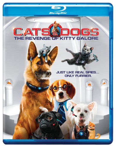 Cats & Dogs: Revenge of Kitty Galore [Blu-ray]