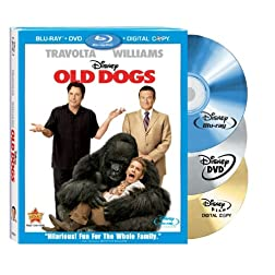 Old Dogs - 3 Disc Blu-ray Combo Pack (Includes DVD + Digital Copy)