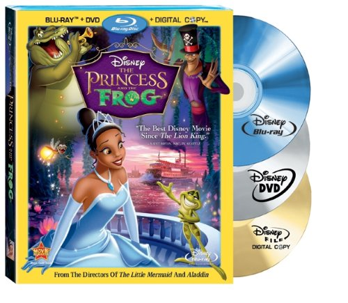 The Princess and The Frog (Three Disc Blu-ray/DVD Combo with Digital Copy)