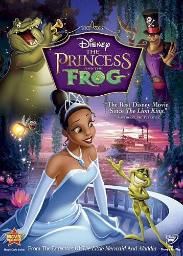 The Princess and the Frog (Single Disc Widescreen)
