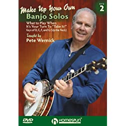 Make Up Your Own Banjo Solos #2