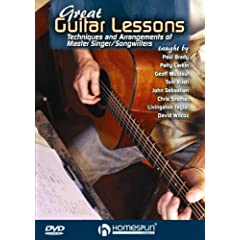 Great Guitar Lessons-Techniques and Arrangements of Master Singer/Songwriters