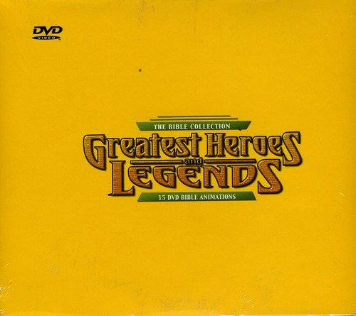 Greatest Heroes & Legends of the Bible (15 DVD Box)
