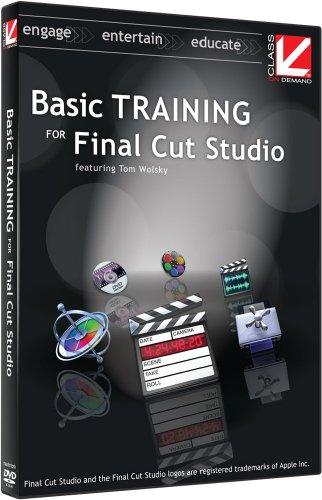 Class on Demand:Basic Training for Final Cut Studio Educational Training Tutorial DVD