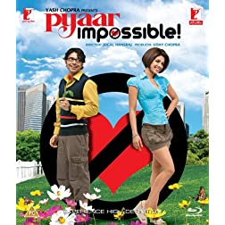 Pyaar Impossible (New Hindi Movie / Bollywood Film / Indian Cinema) [Blu-ray]