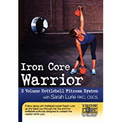 Iron Core Warrior with Sarah Lurie - 2 DVD Kettlebell Workout