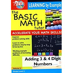 The Basic Math Tutor: Adding 3 & 4 Digit Numbers
