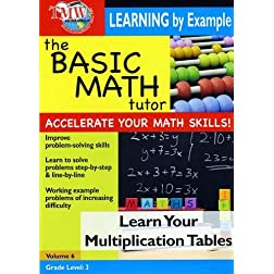 The Basic Math Tutor: Learn Your Multiplication Tables