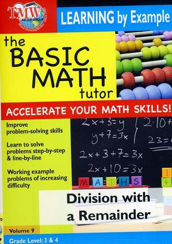 The Basic Math Tutor: Division with a Remainder