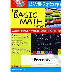 The Basic Math Tutor: Percents