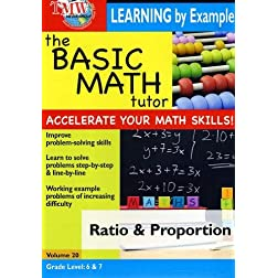 The Basic Math Tutor: Ratio & Proportion