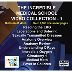 The Incredible Medical School Video Collection - 1 (DVD-ROM)