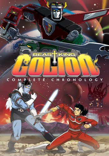 Voltron Beast King Golion Complete (Volumes 1-3, Eps. 1-52)