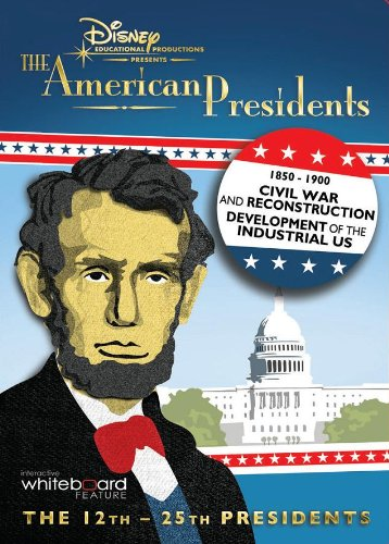 The American Presidents Civil War and Reconstruction & The Development of the U.S. [Interactive DVD]